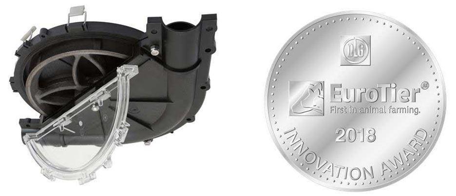 Sistemul de curățare rapidă a coturilor EZ Clean de la Hog Slat a câștigat medalia de argint la targul zootehnic EuroTier 2018